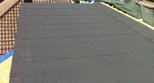 Cost to replace felted flat roof covering