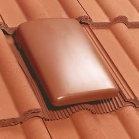 Vented roof tile to stop loft condensation