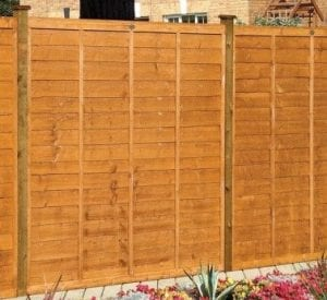 Cost to install fence panels