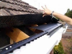 Cost of eaves felt installed to eaves on roof