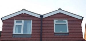 M Shaped Roof