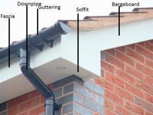 Roofline fascia