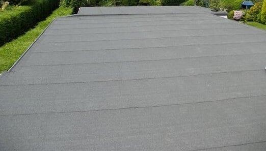 Felt roof