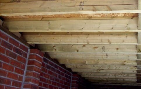 Flat Roof Insulation Cost A Look At, How To Insulate A Garage Roof Rafters