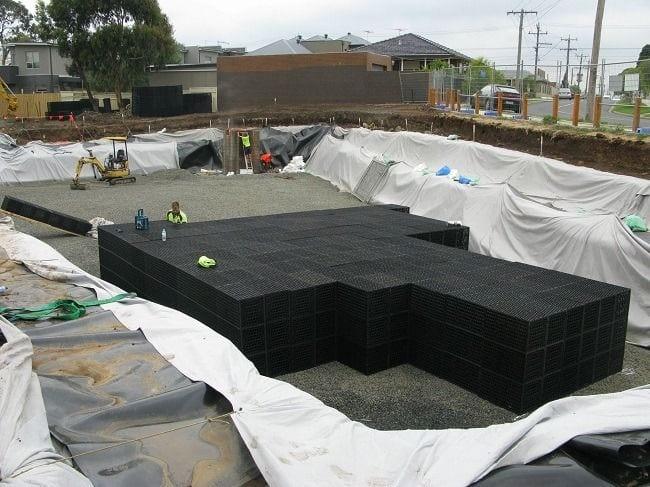 Large soakaway project