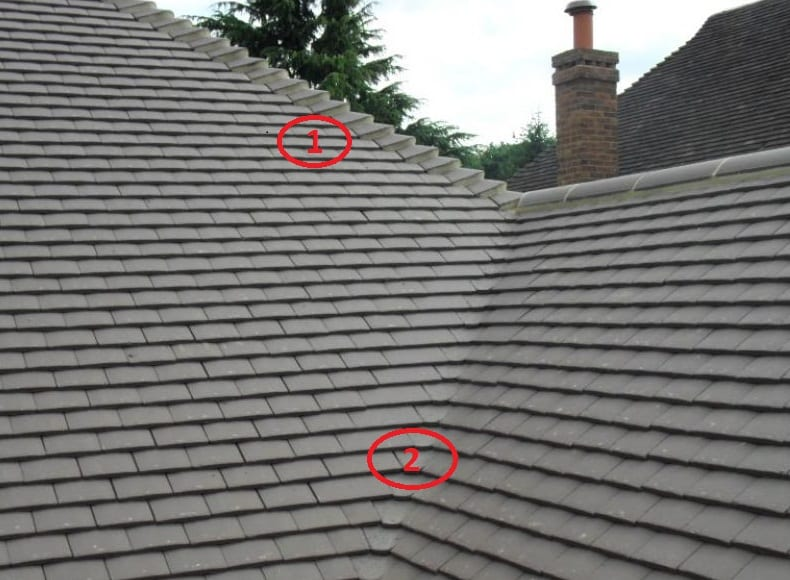 Leaking roof example
