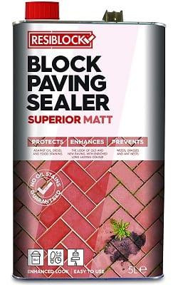 Resiblock block paving sealer