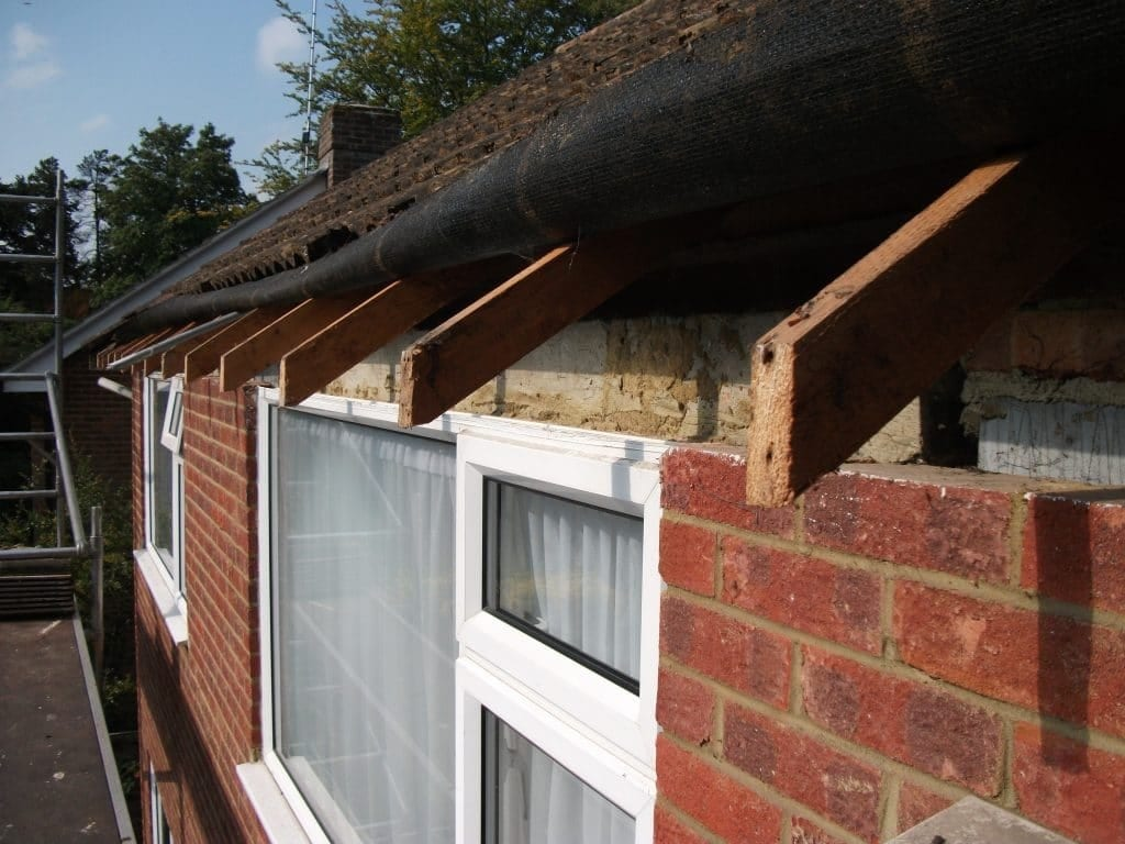 Exposed roof rafter ends