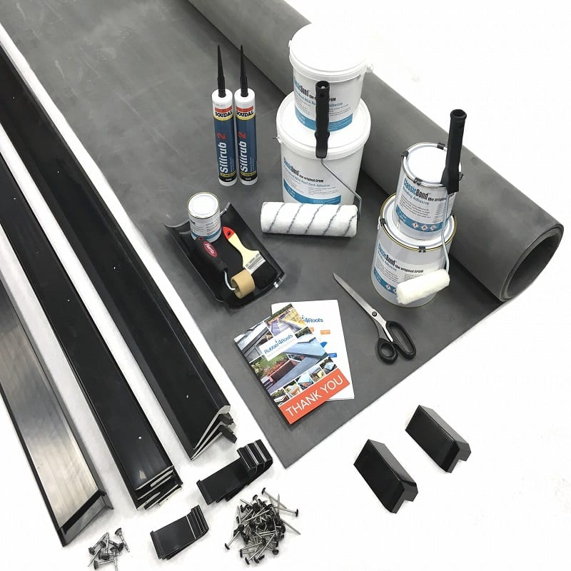 Rubber roof kit