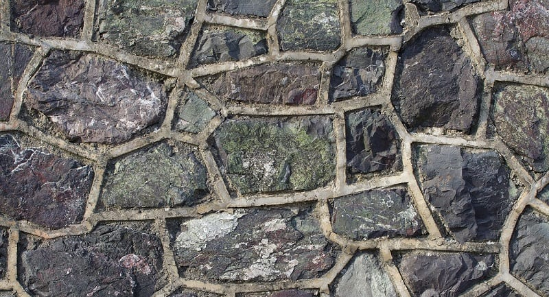 Stone wall repointing